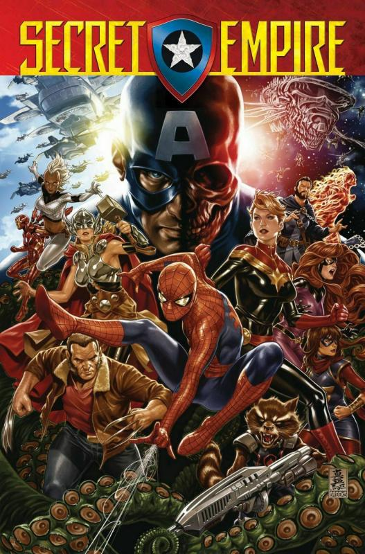 Secret Empire #1 Poster by Brooks (24 x 36) Rolled/New!