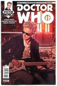 DOCTOR WHO #7 B, NM, 12th, Tardis, 2016, Titan, 1st, more DW in store, Sci-fi