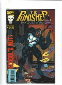 Punisher Back to School Special #3 VF+ 8.5 Marvel Comics 1994