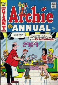 Archie Comics Annual #22, Good- (Stock photo)