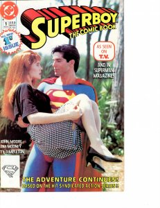 Superboy the Comic Book (1990) #1 VF- (7.5)