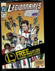 12 Legionaires DC Comics #1 2 3 4 5 6 7 8 9 10 11 12 Kid Quantum Sci-Fi GK33