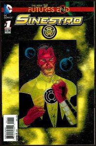 Futures End Sinestro 3-D Cover (2014, DC) 9.6 NM+