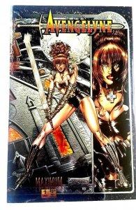 1994  Avengelyne # 1  Maximum Comic Chromium Reflector   (CB-111)
