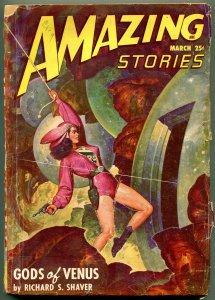 Amazing Stories Pulp May 1948- Gods of Venus- GGA cover