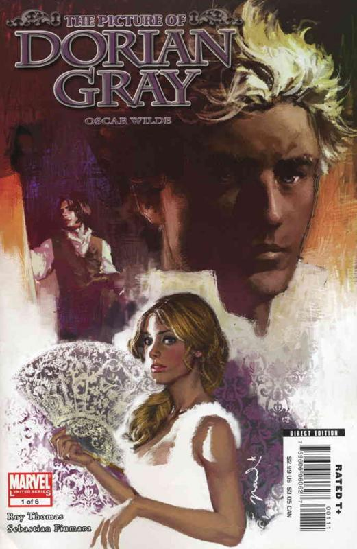 Marvel Illustrated: Picture of Dorian Gray #1 FN Marvel - save on shipping - det