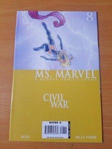 Ms. Marvel #8 ~ NEAR MINT NM ~ (2006, Marvel Comics)