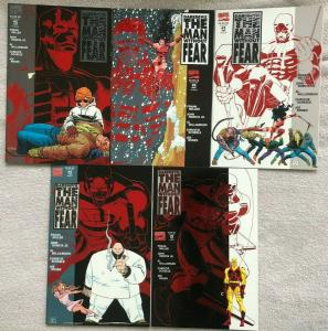 DAREDEVIL: MAN WITHOUT FEAR - Complete Mini-Series- #1, 2, 3, 4, 5 Miller