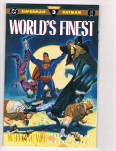 Worlds Finest Superman/Batman # 3 DC Comic Books Hi-Res Scan Modern Age WOW!! S7