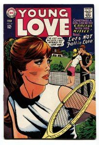 YOUNG LOVE #63 1967-DC ROMANCE-TENNIS COVER FN/VF