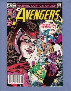 Avengers #234 VF/NM Marvel 1983