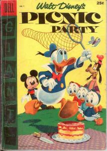 PICNIC PARTY 7 G+   1956 Dell Giant COMICS BOOK