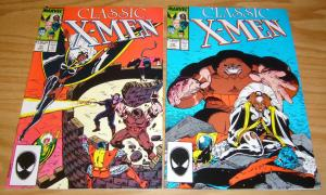 Classic X-Men #10-11 VF/NM art adams JUGGERNAUT mignola
