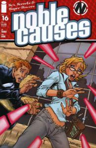 Noble Causes (Vol. 3) #16 VF/NM; Image | save on shipping - details inside