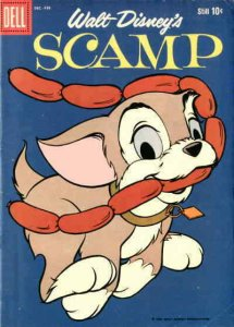Scamp (Dell) #12 VG; Dell | low grade comic - save on shipping - details inside