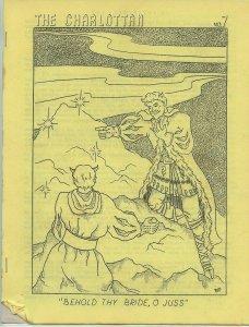 THE CHARLOTTAN #7 (Jan. 1966) - Bailesania #113 Zine - Scarce Fan Club Zine!