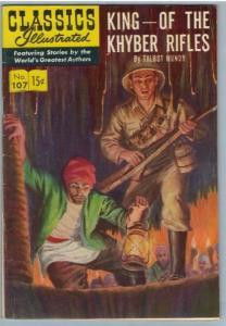 Classics Illustrated 107 (original) May 1953 FI- (5.5)