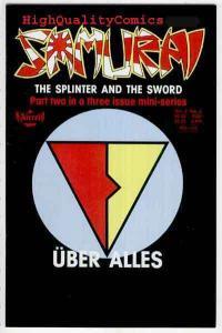 SAMURAI #2, VF/NM, Barry Blair, Aircel, 1988, McEown, Blitzkrieg