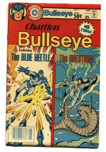 Charlton Bullseye #1 1981- 1st ROCKET RABBIT-comic book