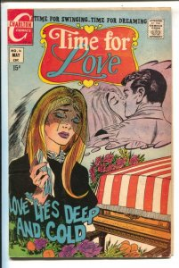 Time For Love #16 1970-Charlton-15¢ cover price-military funeral cover & stor...
