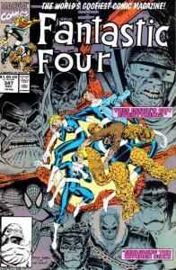 Fantastic Four (1961 series) #347, VF+ (Stock photo)