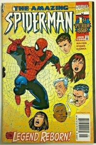 AMAZING SPIDER-MAN#1 VF/NM 1998 JOHN BYRNE MARVEL COMICS