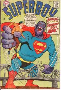 SUPERBOY 142 G+   October 1967 COMICS BOOK