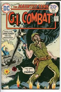 G.I. COMBAT #170 1974-DC-THE HAUNTED TANK-KEN BARR COVER-nm-