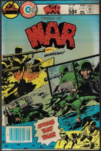 War #28 (Charlton, 1981) NM