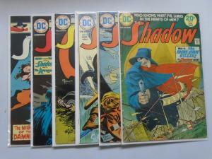 6 Different Shadow (1st Series DC), Average 5.0 (1974) PULP