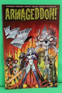 ARMAGEDDON #4, VF/NM, Lady Death, Purgtori, 2000, Chaos, more LD in store