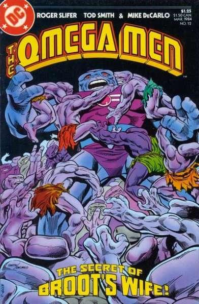 Omega Men (1982 series) #12, NM- (Stock photo)