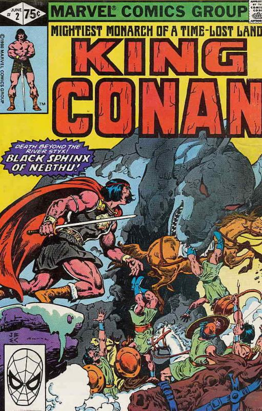 King Conan #2 VF/NM; Marvel | save on shipping - details inside