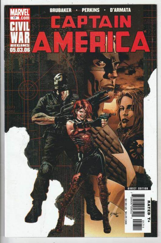 Captain America #17 (May-06) NM+ Super-High-Grade Captain America