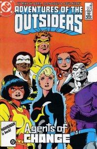 Adventures of the Outsiders, The #36 FN; DC | save on shipping - details inside
