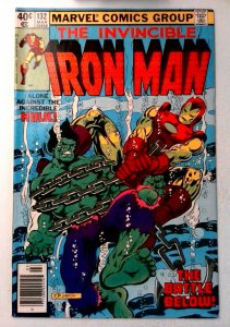 Iron Man #132 Marvel 1980 VF Bronze Age Comic Book 1st Print