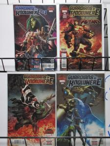 Guardians of Knowhere (Marvel 2015) #1-4 Complete Galaxy Superheroes + Angela