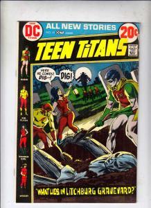 Teen Titans, The #41 (Oct-72) VG/FN Mid-Grade Kid Flash, Robin, Wonder Girl, ...