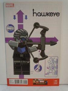 Hawkeye #17 VF 2014 Stock Image