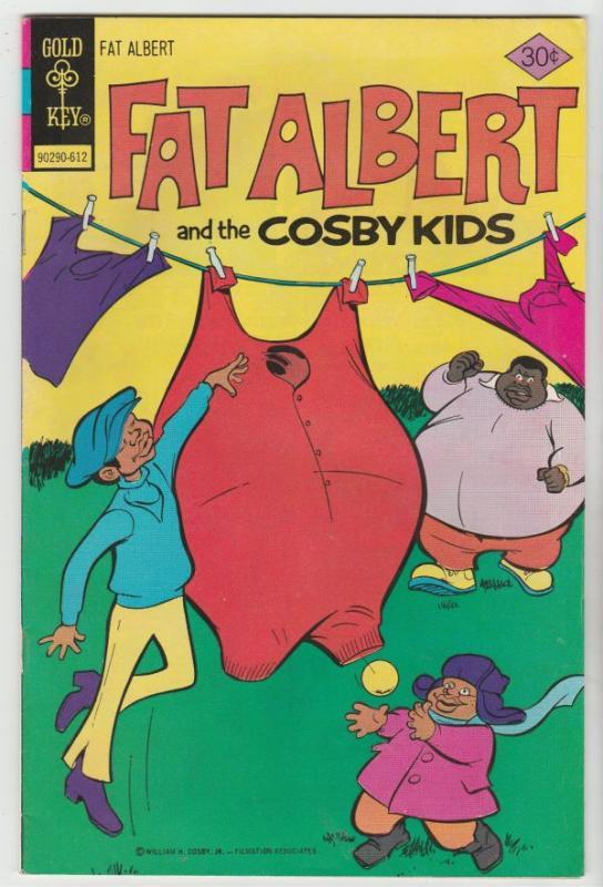 Fat Albert and the Cosby Kids #16 (Dec-76) NM- High-Grade Fat Albert, Russel,...