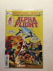 Alpha Flight 1 Facsimile Edition Near Mint Nm Marvel