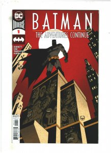 Batman The Adventure Continues #1 NM- 9.2 DC Comics 2020 Animated