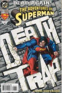 Adventures of Superman (1987 series) #517, NM (Stock photo)