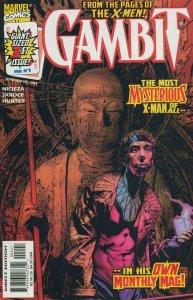 GAMBIT #1, NM-, X-men, Cajun, 1999 series, more Marvel in store, Bradstreet