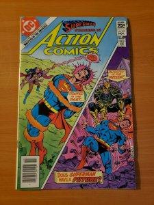 Action Comics #537 Newsstand Edition ~ NEAR MINT NM ~ 1982 DC Comics