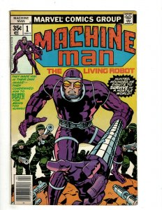 10 Machine Man The Living Robot Marvel Comics # 1 2 3 4 5 6 7 8 9 10 J461