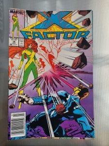 X-Factor #18 (1987) Newsstand Edition