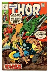 Thor 178 Jul 1970 VF (8.0)