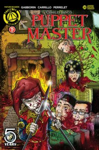 PUPPET MASTER #20, VF/NM, Bloody Mess, 2015 2016, Dolls, Killers, Kill cover
