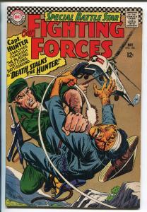 OUR FIGHTING FORCES #100 1966-DC-SPECIAL ISSUE-CAPT HUNTER-VIETMAN WAR-vf